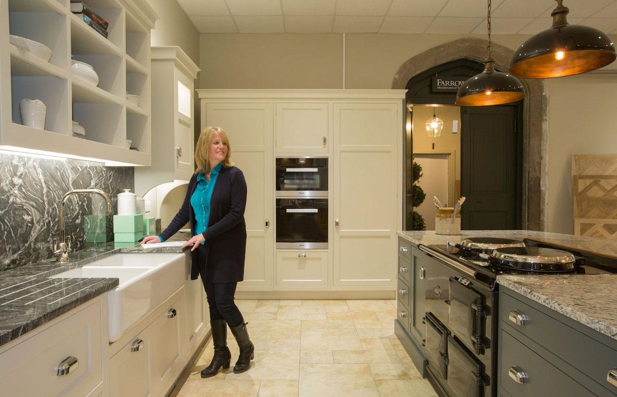 Beautiful showroom kitchen