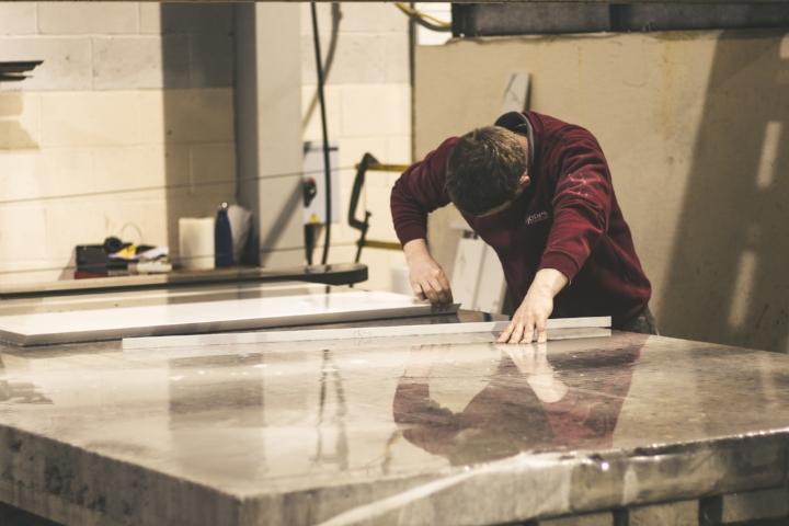 Creating a beautiful granite worktop