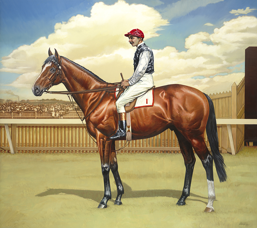 Image Courtesy of  Brian Clinton Equine Artist