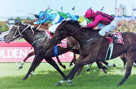 Image Courtesy of Steve Hart Photographics - Belle Du Jour's amazing Slipper win 2000
