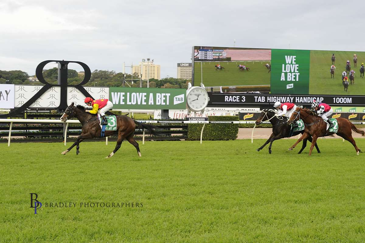 Image Courtesy of Bradley Photos. Clipper wins one of her two TAB Highway Events.