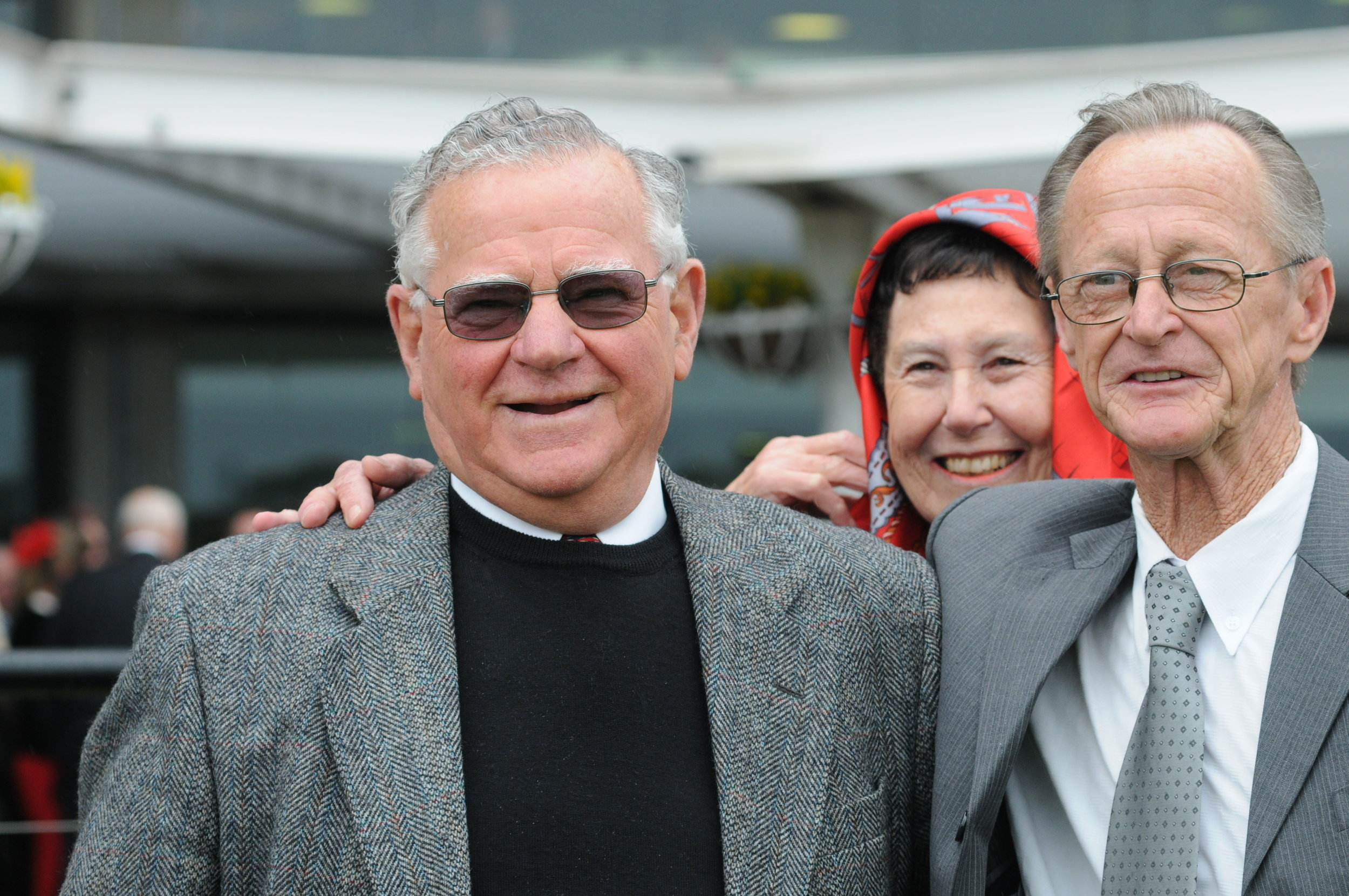 Image courtesy Steve Hart Photograhics - Bill Prain and Fred Peisah - great partners in racing and in life.