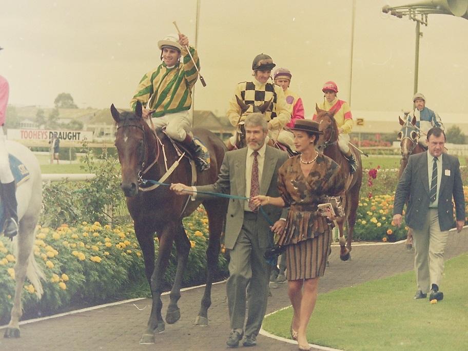 Image courtesy Steve Hart Photographics - One of John's seven wins on Sky Chase.