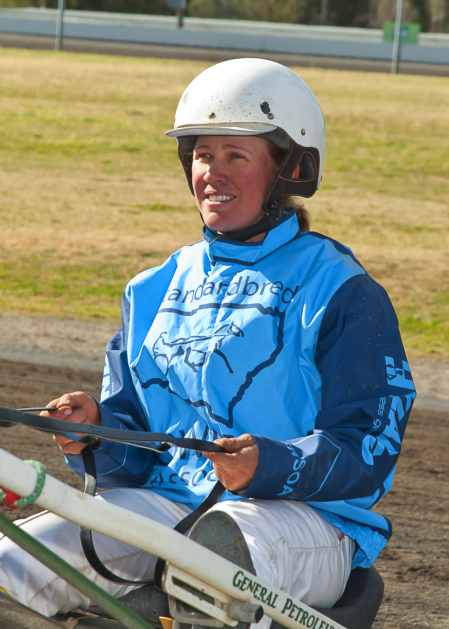 Image courtesy PeterMac Photography - Stacey Weidemann has inherited the family passion for harness racing.