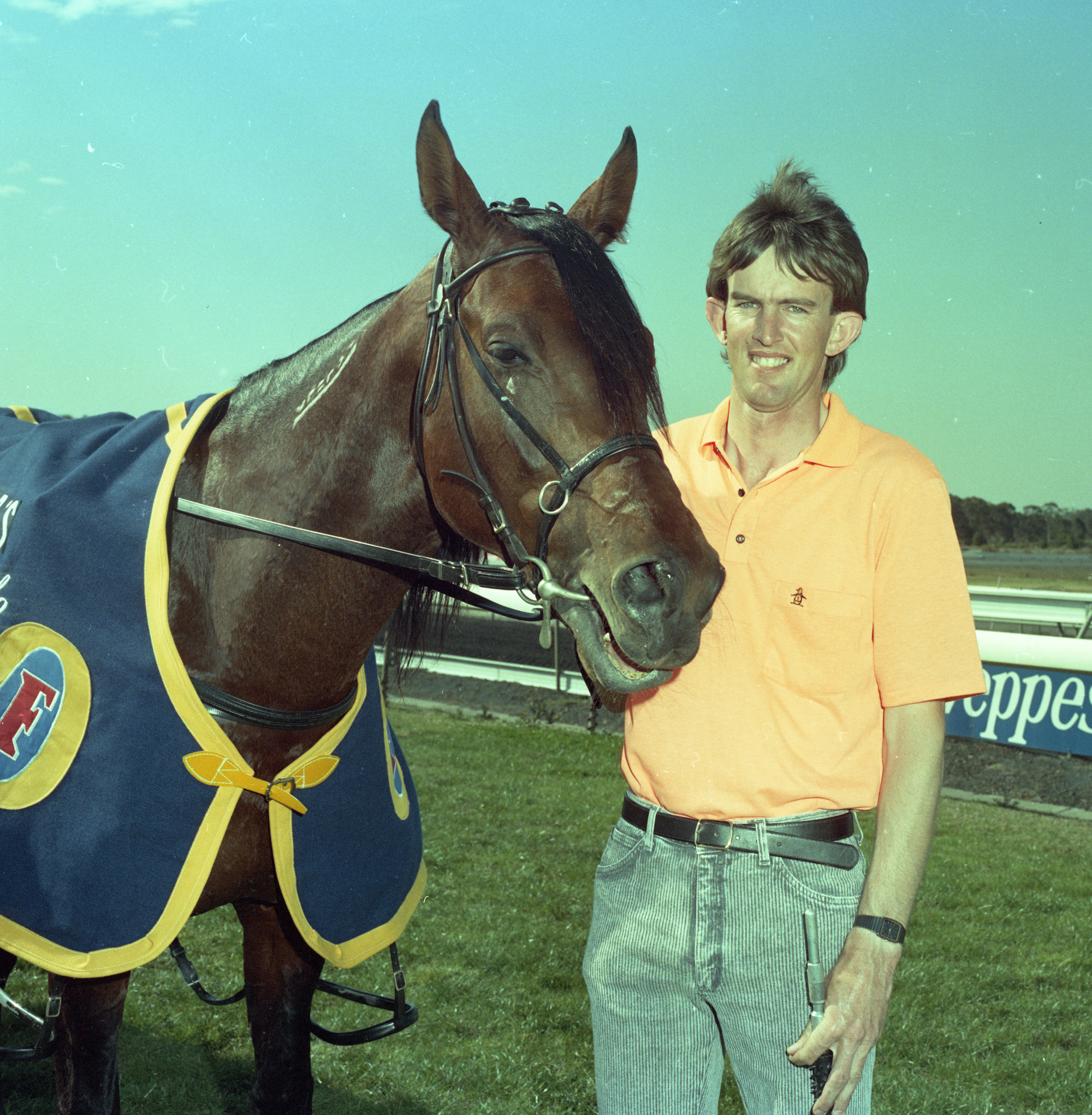 Image courtesy National Trotguide - Howard at the races 1989.