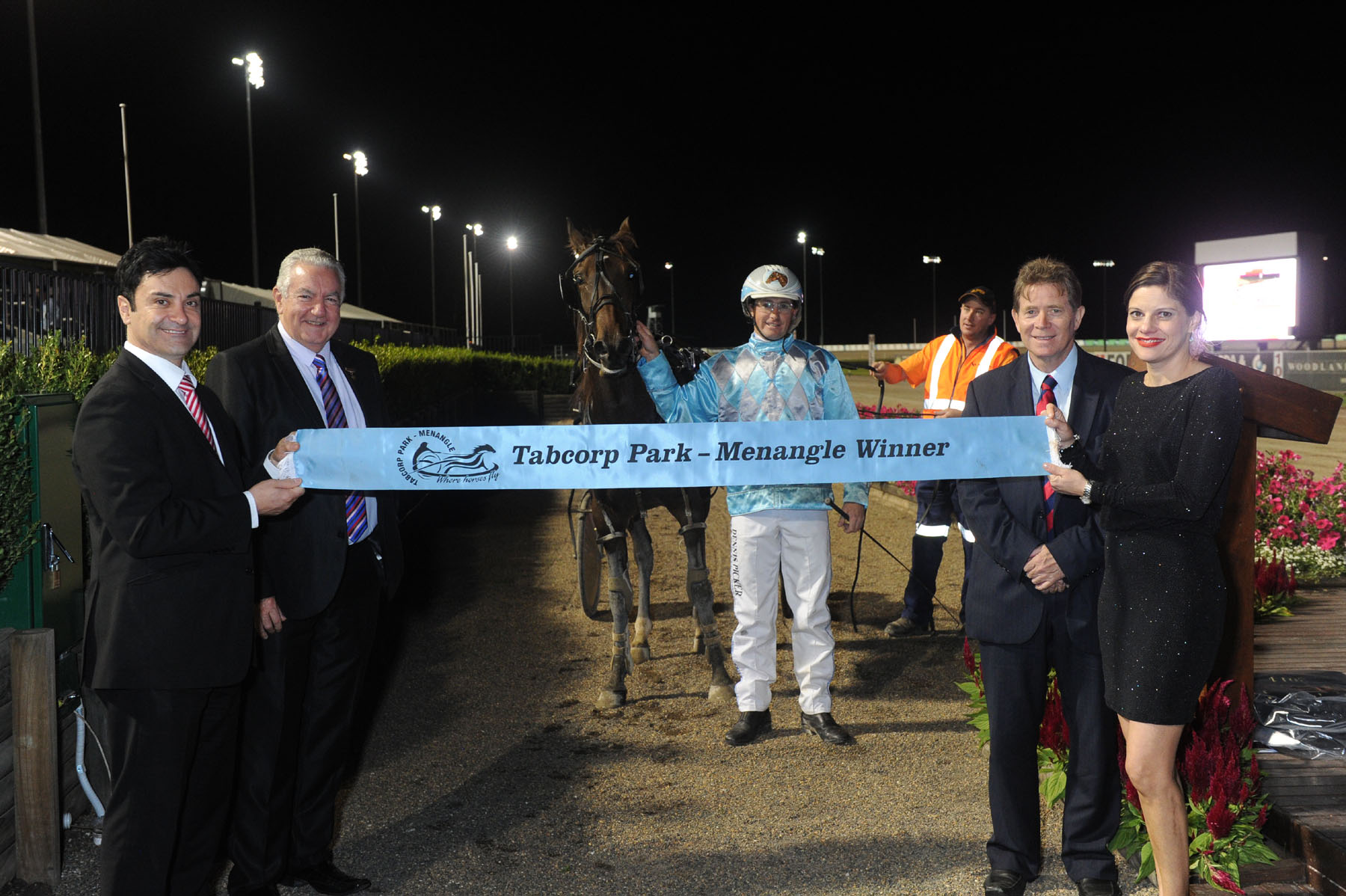 Image courtesy National Trotguide - Condagen won a total of 13 races at Menangle.