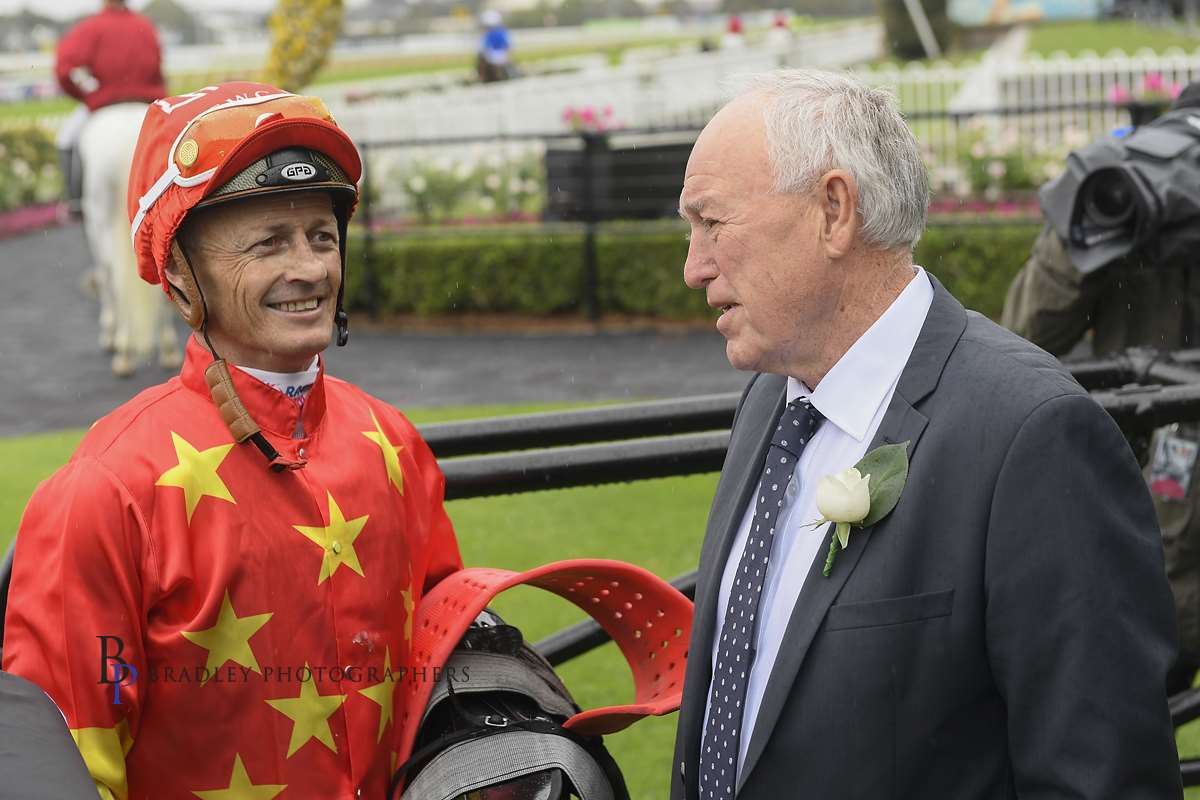 Image courtesy Bradley Photographers - Damian Browne was a great communicator with owners and trainers.