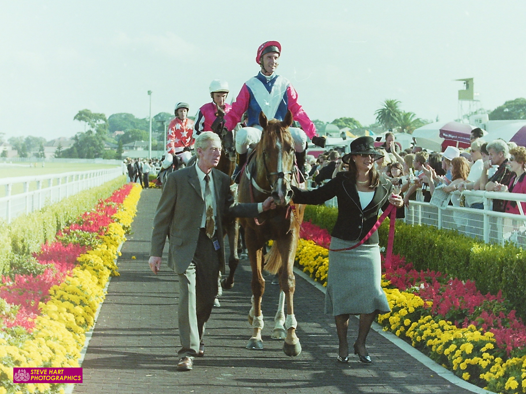 Image courtesy Steve Hart Photographics - Starcraft after his Derby triumph 2004.