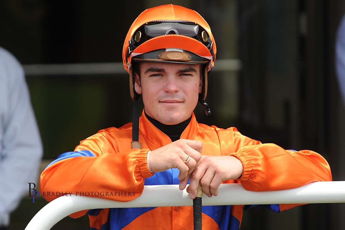 Image courtesy Bradley Photographers - Shaun Guymer is one of the busiest jockeys in NSW.