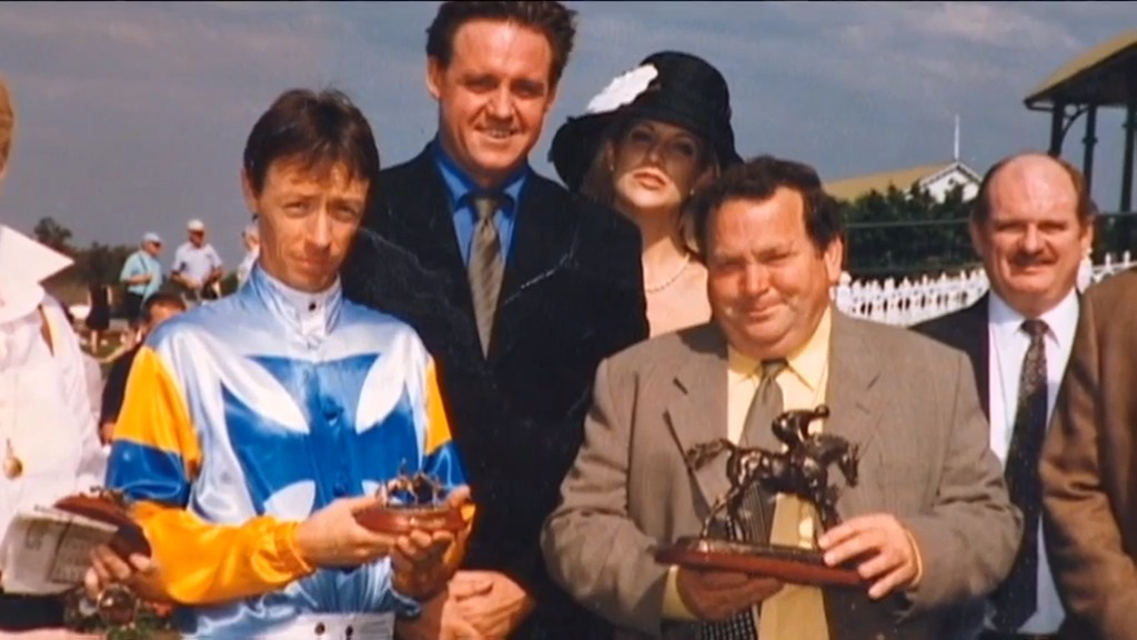 Barry had the services of top jockeys like Michael Cahill during his stint in Macau.