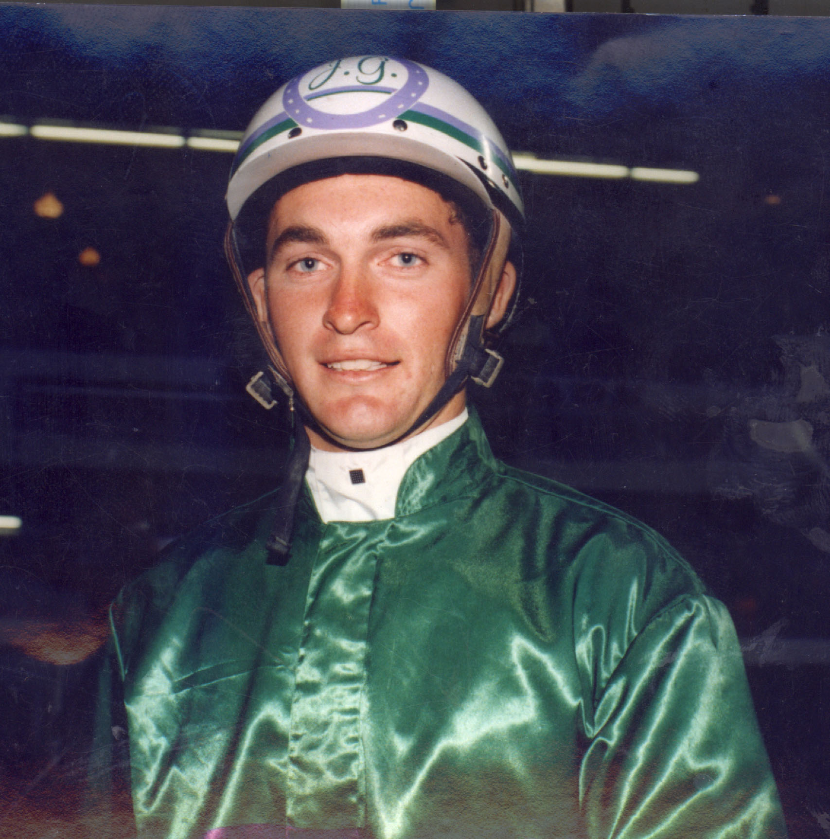 Image courtesy National Trotguide - A young Jason Proctor at the start of his race driving career.