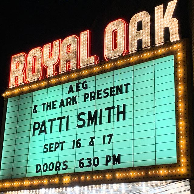 #pattismithgroup For your music! For your Art! For your indomitable heart! We love you! #howcanwesleep #toddtesenyoga