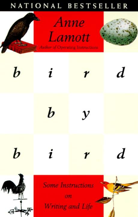 Bird By Bird Anne Lamott - Una guida passo-passo su come scrivere e alcune lezioni sul perfezionismo e sulla vita.