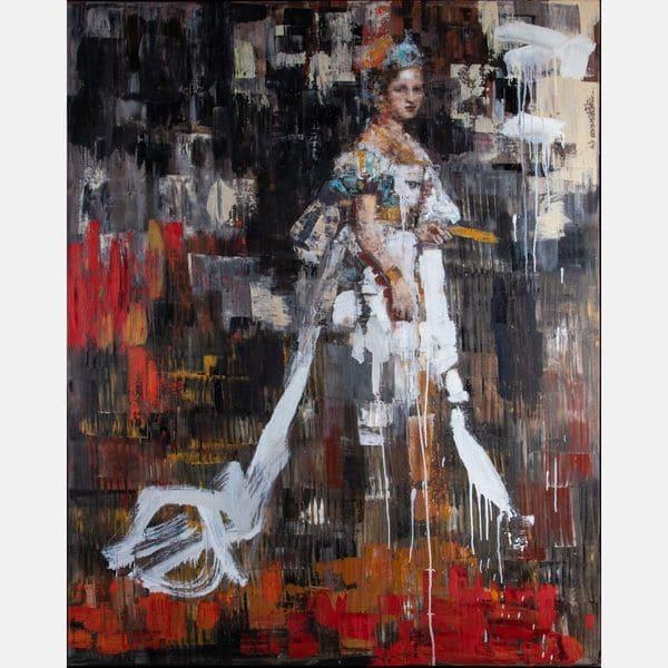 Queen of Philosophy  Rimi Yang Sold for $6,500