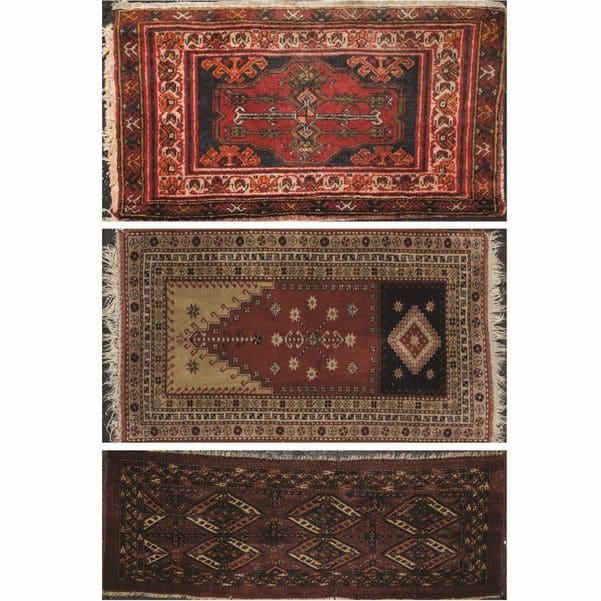 Group Three Turkish Wool Rugs  Sold for $7,000