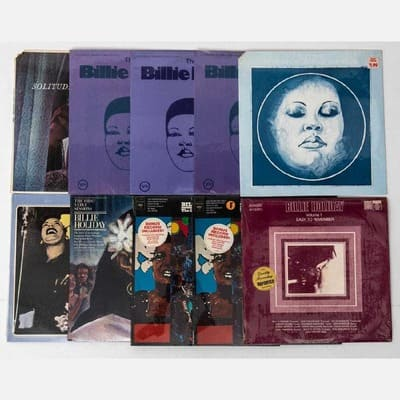 10 BILLIE HOLIDAY VINYL LPS