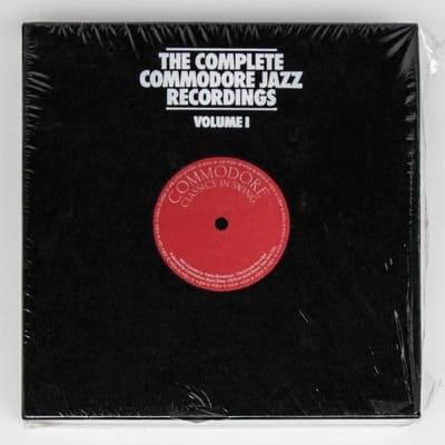 COMPLETE COMMODORE JAZZ RECORDINGS