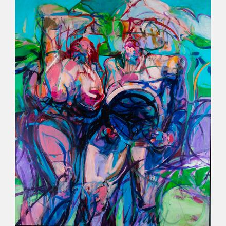 THOMPSON LEHNERT, (B. 1931) - FREEDOM   Thompson Lehnert, (b. 1931) - Freedom, oil on canvas, signed lower right.   Estimate: $2,000 - $3,000     View Lot >