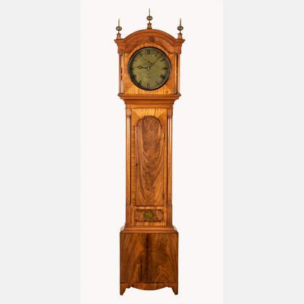 SCOTTISH THOMAS SHIER TALL CASE CLOCK   A Scottish Mahogany Tall Case Clock by Thomas Shier, Banff, 19th Century,   Estimate: $1,000 - $2,000