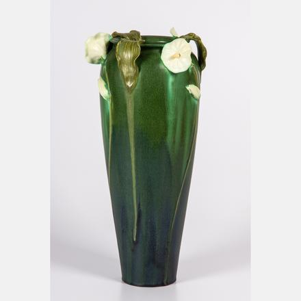 EPHRAIM POTTERY VASE BY LAURA KLEIN  Estimate: $80 - $120