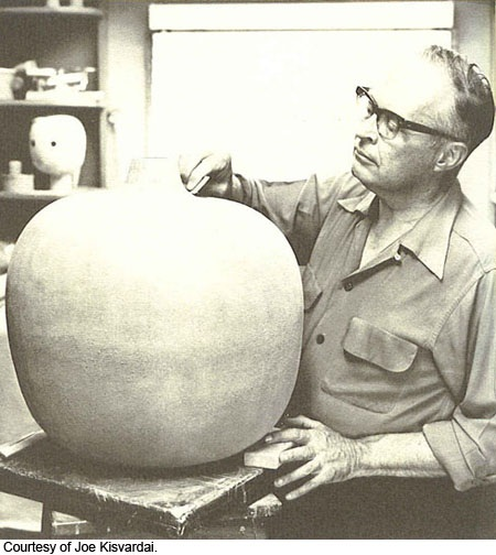 Claude Conover, renowned ceramicist