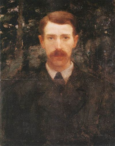 Károly Ferenczy, Self Portrait