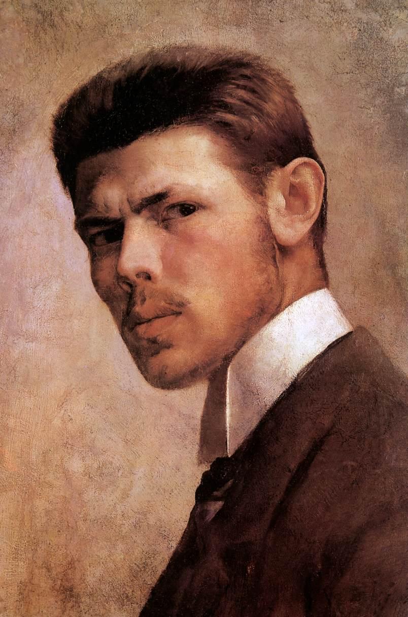 János Vaszary, Self Portrait