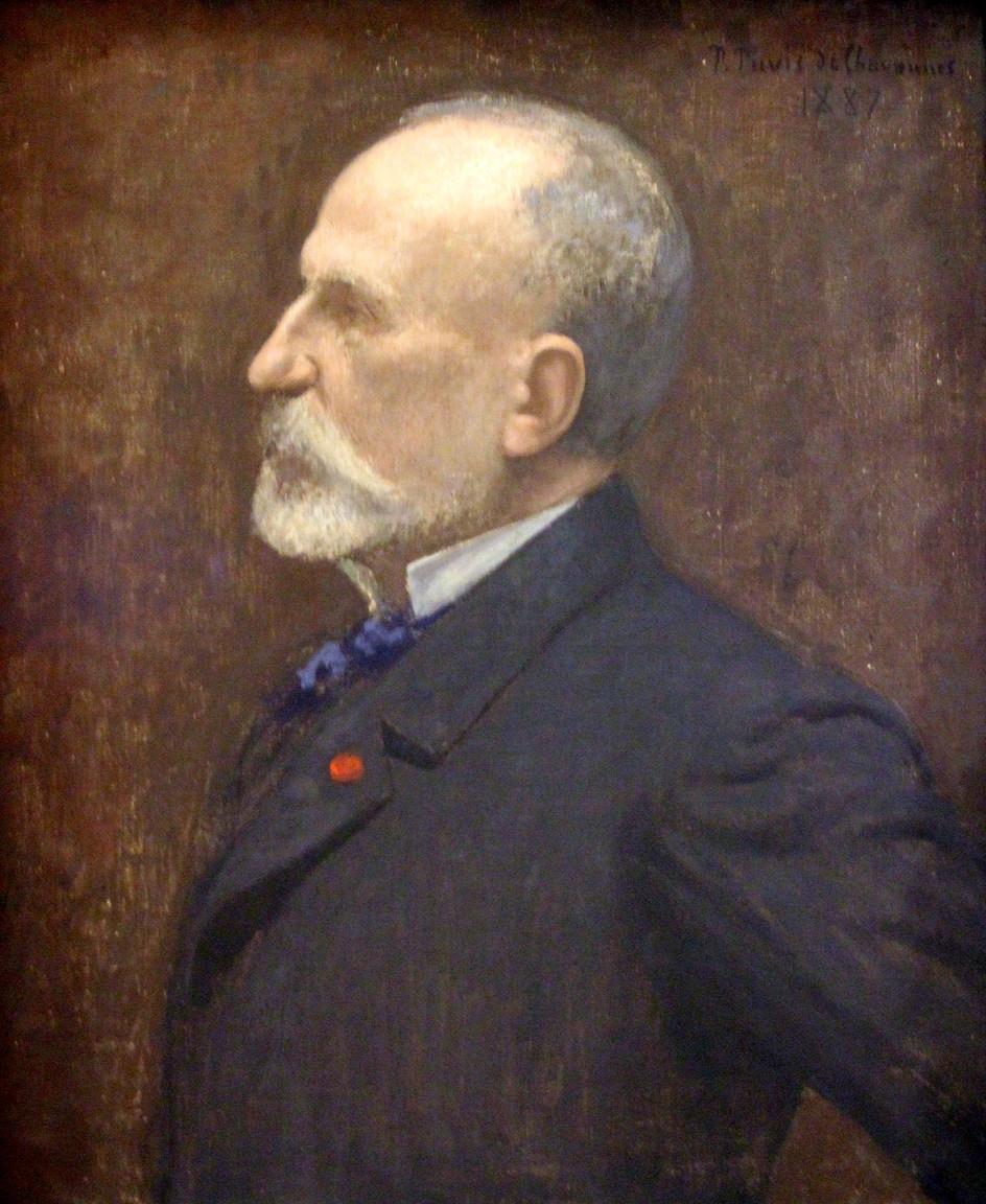 Puvis de Chavannes, Self Portrait