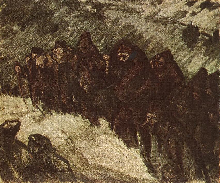 János Vaszary, Soldiers in the Snow