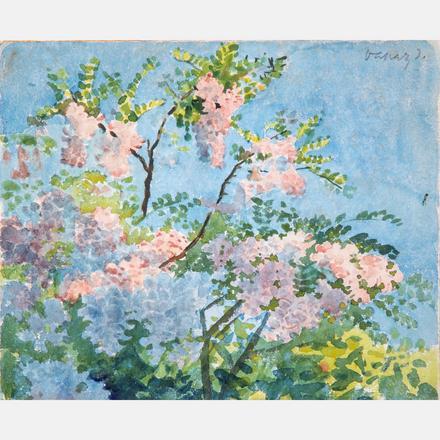 János Vaszary, Floral Scene, Estimate: $10,000 - $20,000.  View Lot >