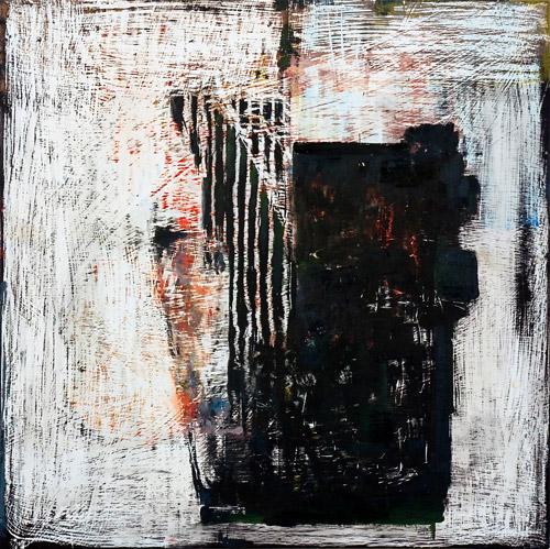 John Brown, GRIMM #75, 2009 Oil on panel, 61x61cm