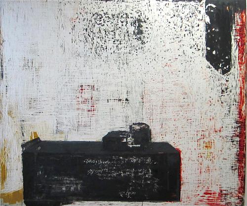 John Brown, Tatlarin, 2011 Oil on panel, 152x167 cm