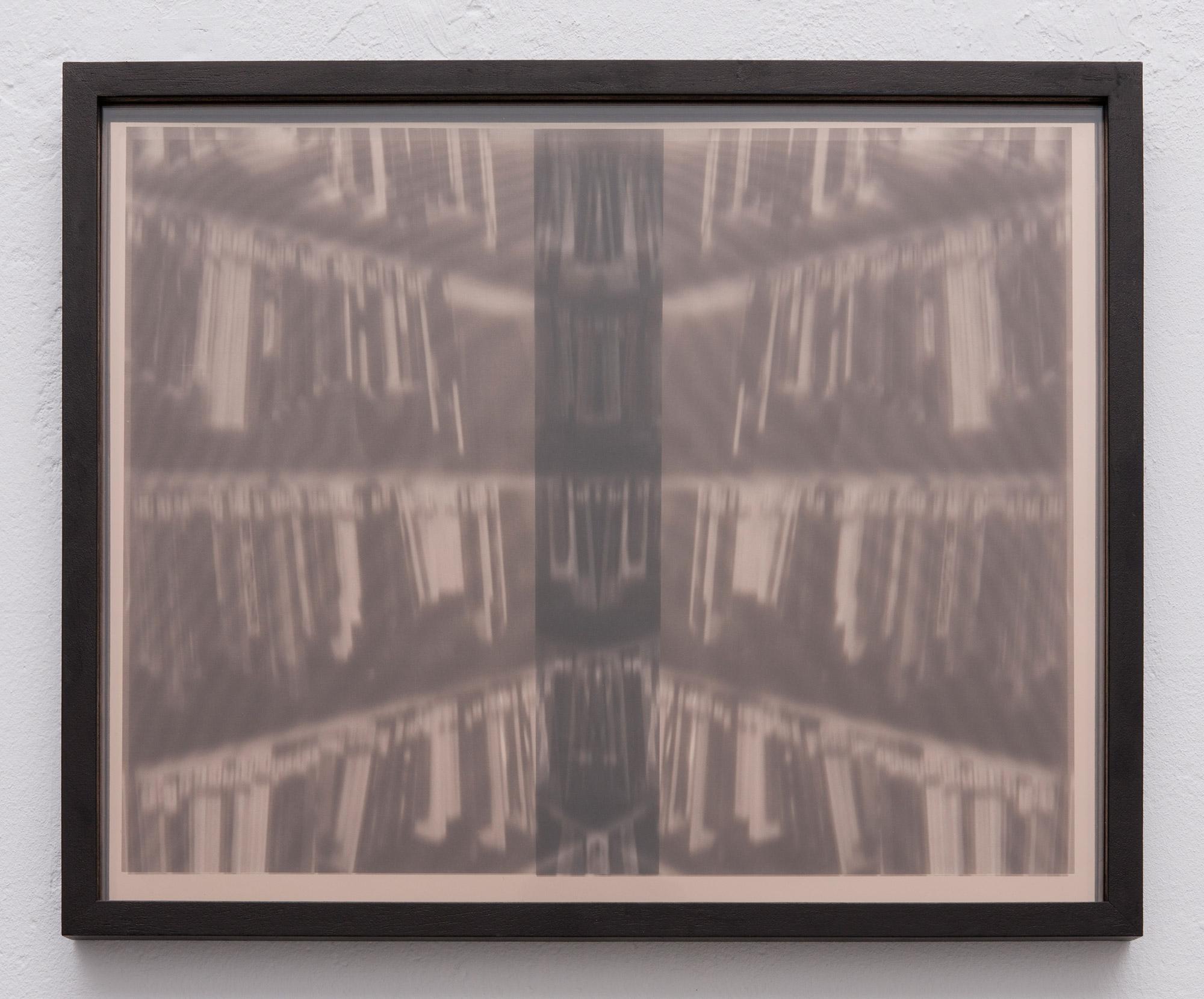 Amir Fattal, Spine, 2010, framed transparancies