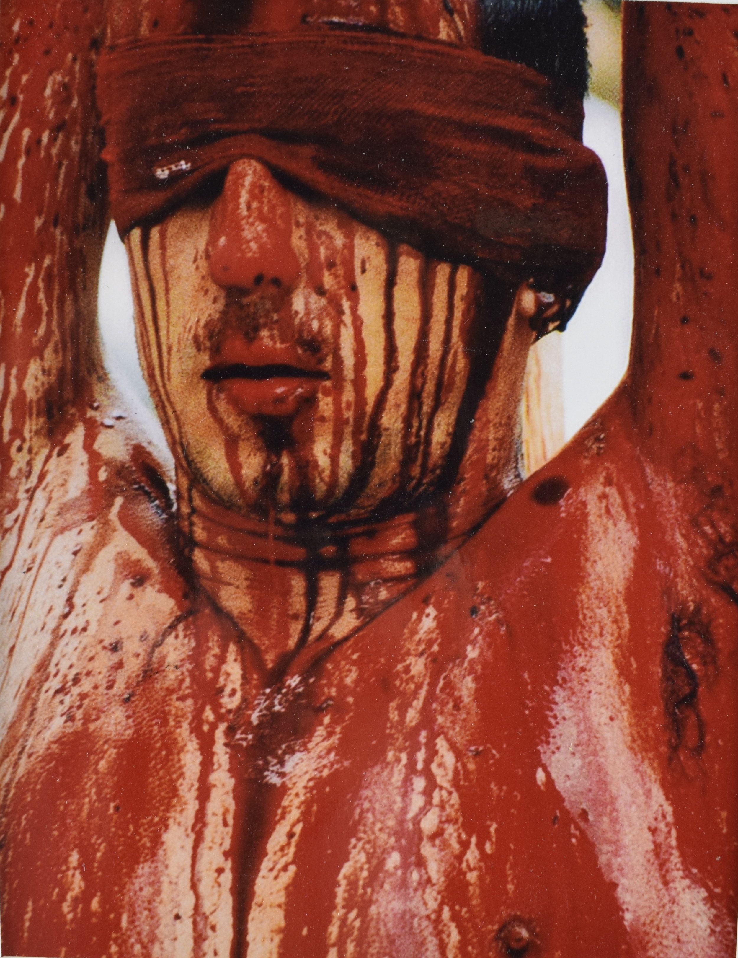 Hermann Nitsch,  Untitled , 2011, Multiple Print, 20x16cm