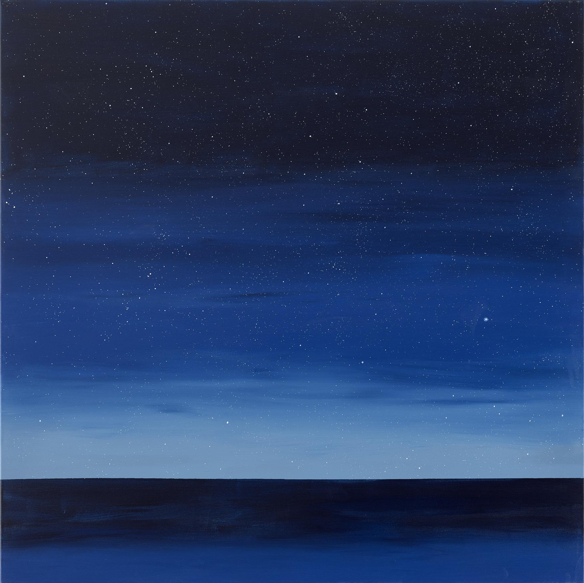 Chemical Night 21:58, 2017, 110 x 110 cm