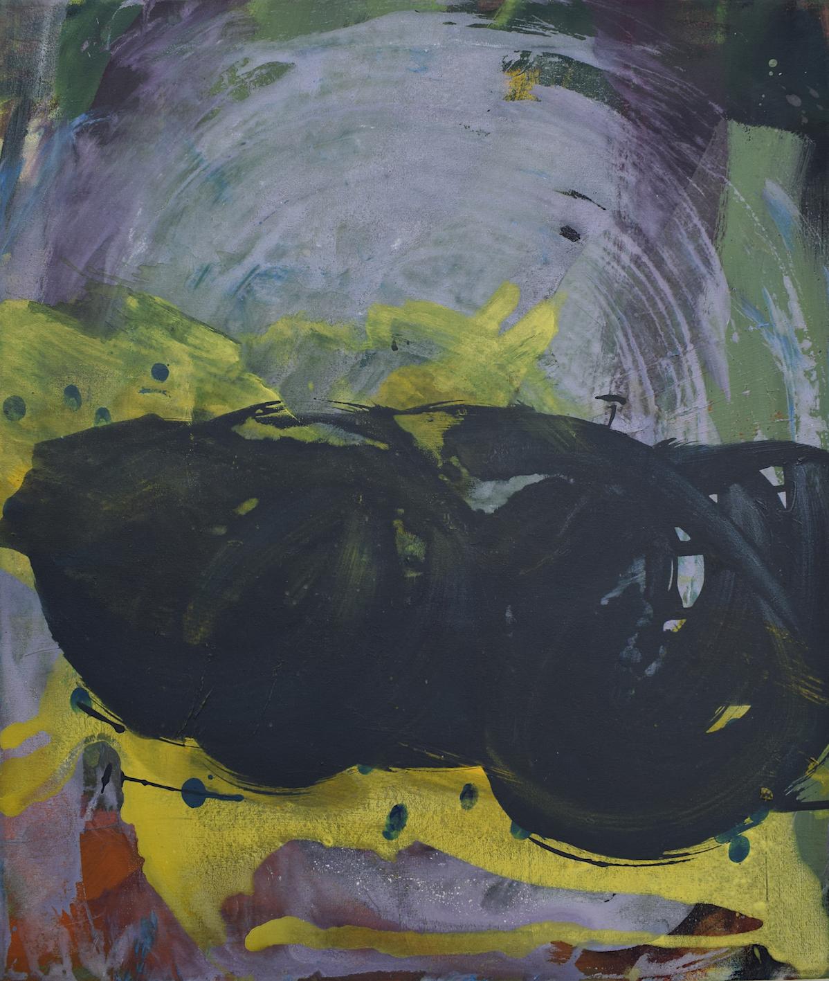 Silke Kästner  Sunglasses , 2012, Acrylic on canvas, 60 x 70 cm