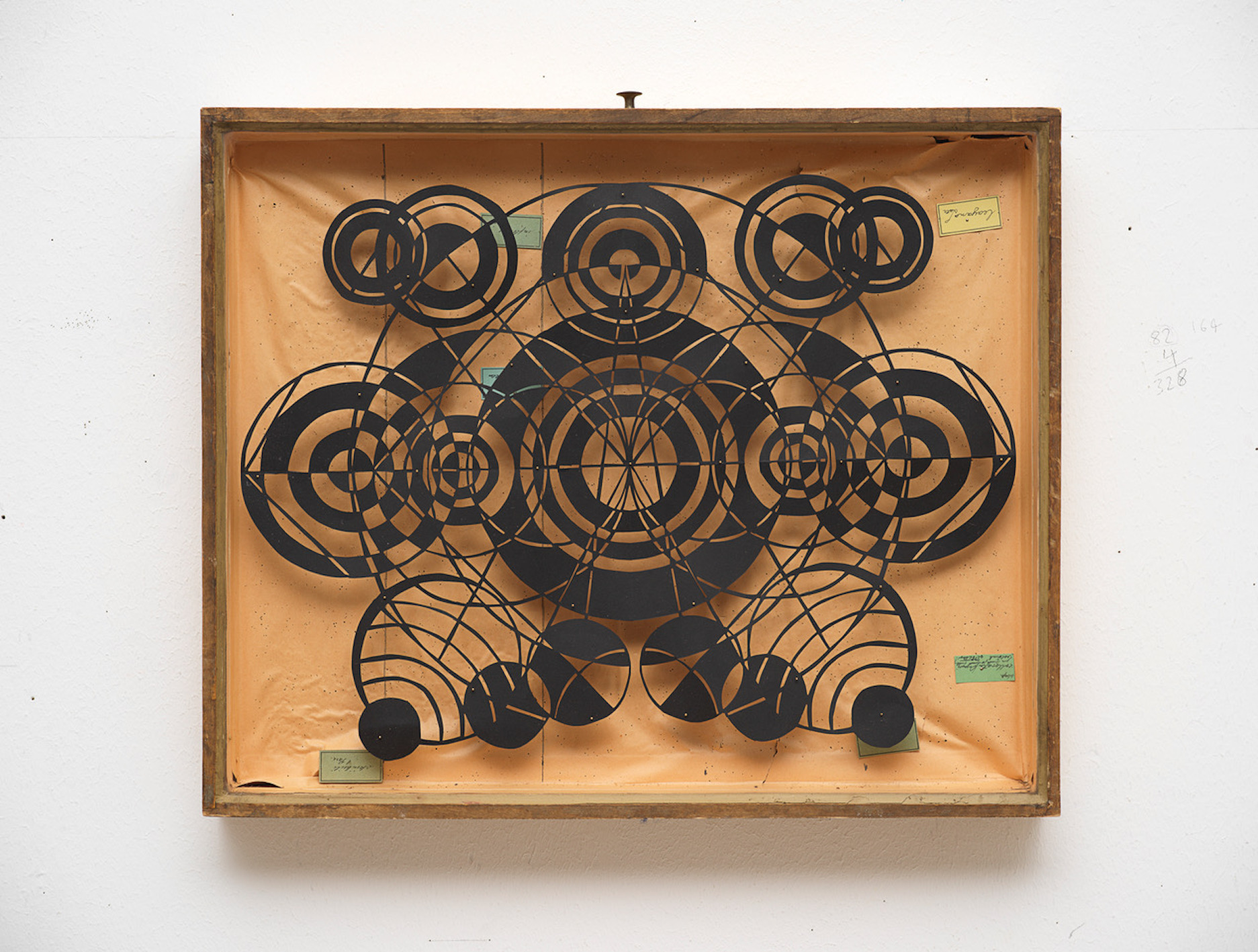 Deborah Wargon,  The Paper Diaries , 2016 Mixed media, 51 x 44 x 7cm