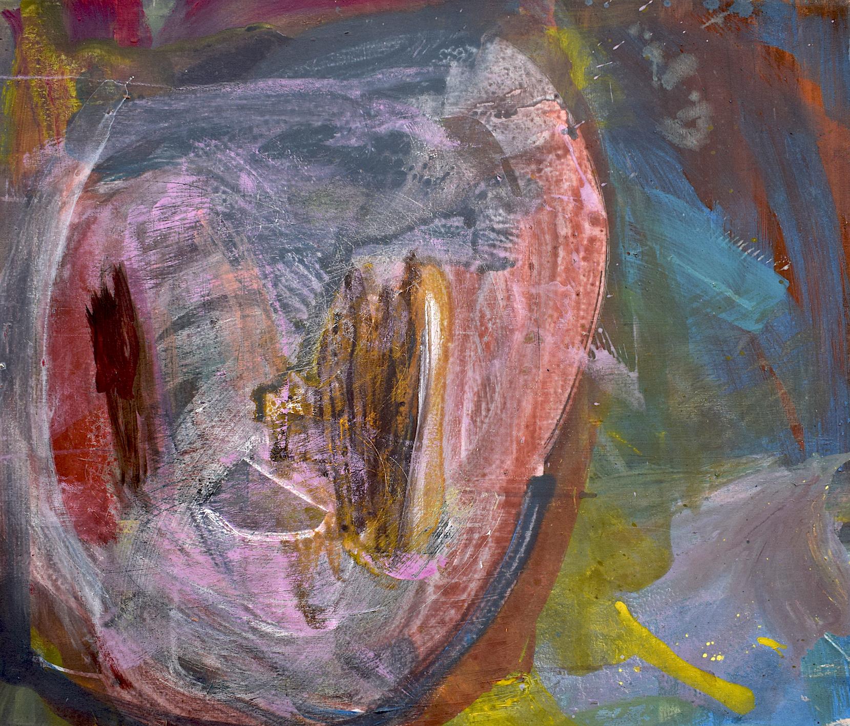 Silke Kästner  Untitled 2 , 2014, Acrylic on canvas, 60 x 70cm