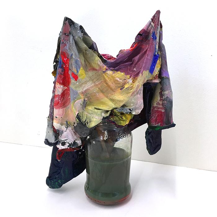 Nina Rodin,  Studio Muses , 2019 Mixed Media Variable
