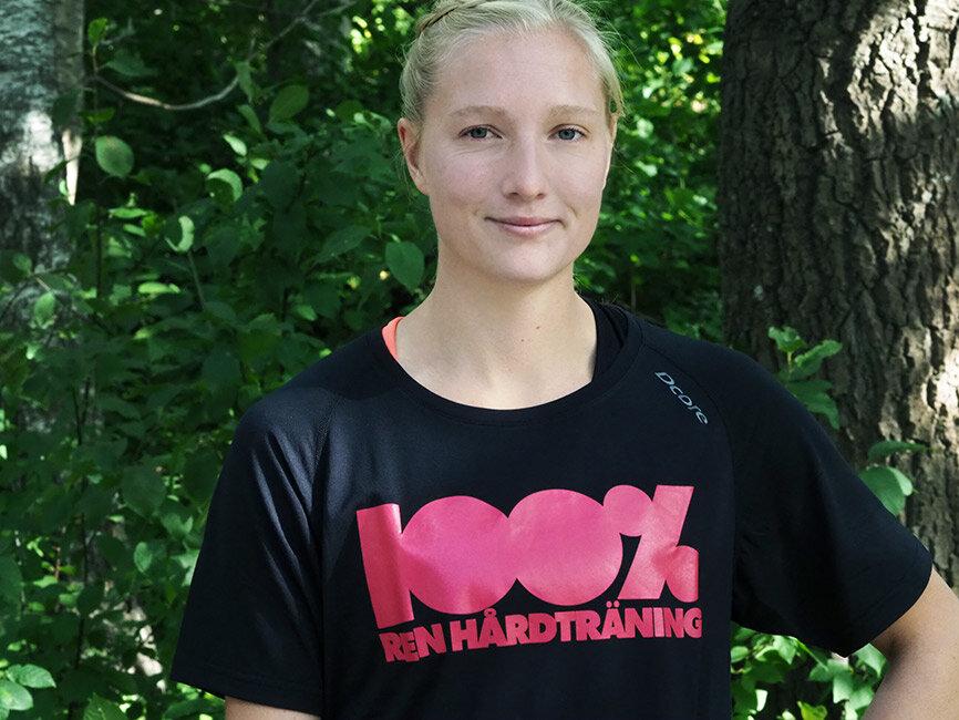Moa Hjelmer, friidrottare, föreläsare, ambassadör och inspiratör. Följ henne på @moahjelmer .