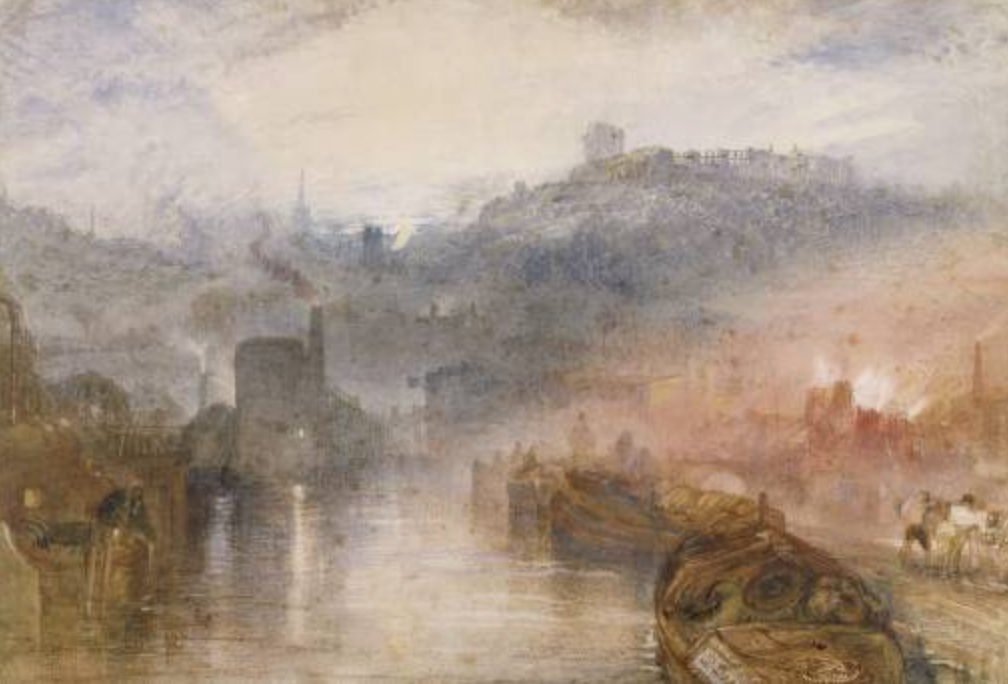 Figure 1. Turner JMW.  Dudley, Worcestershire . 1832. Board of Trustees of the National Museums and Galleries on Merseyside (Lady Lever Art Gallery), Wirral, UK.