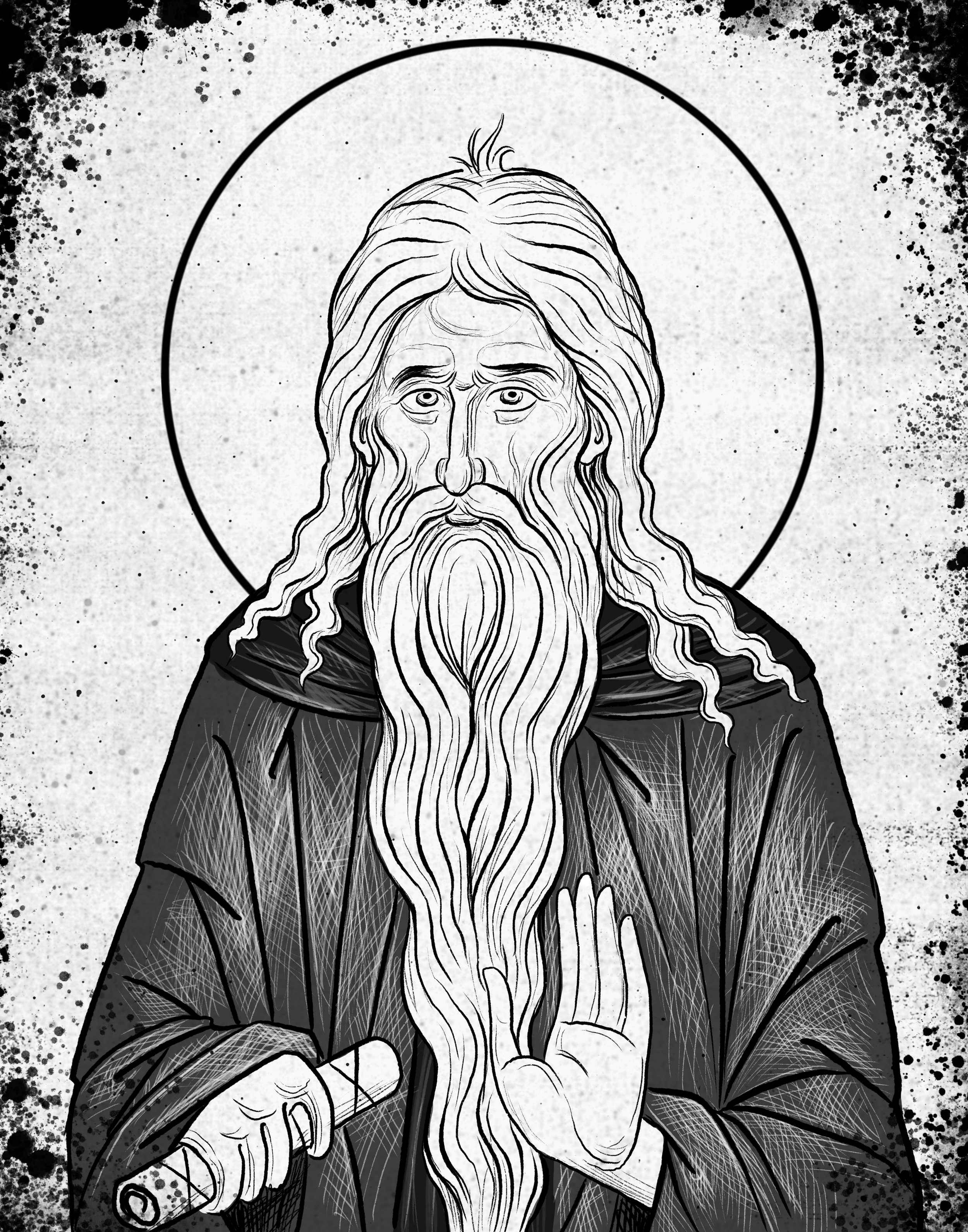 St. Macarius the Great, Egyptian ascetic