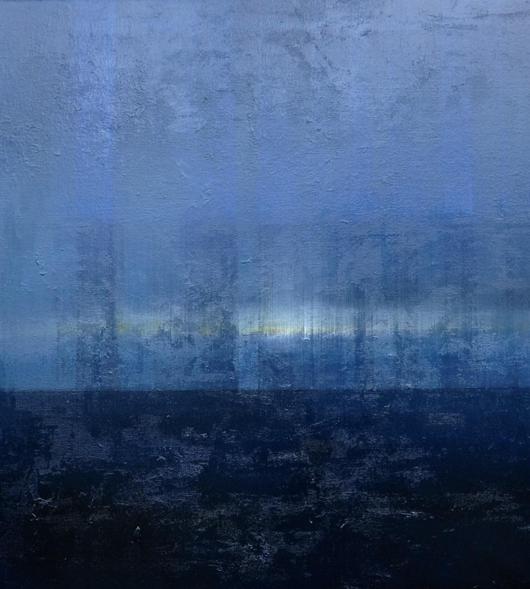 """""""Light on Horizon''   oil on canvas 48'' X 48''"""