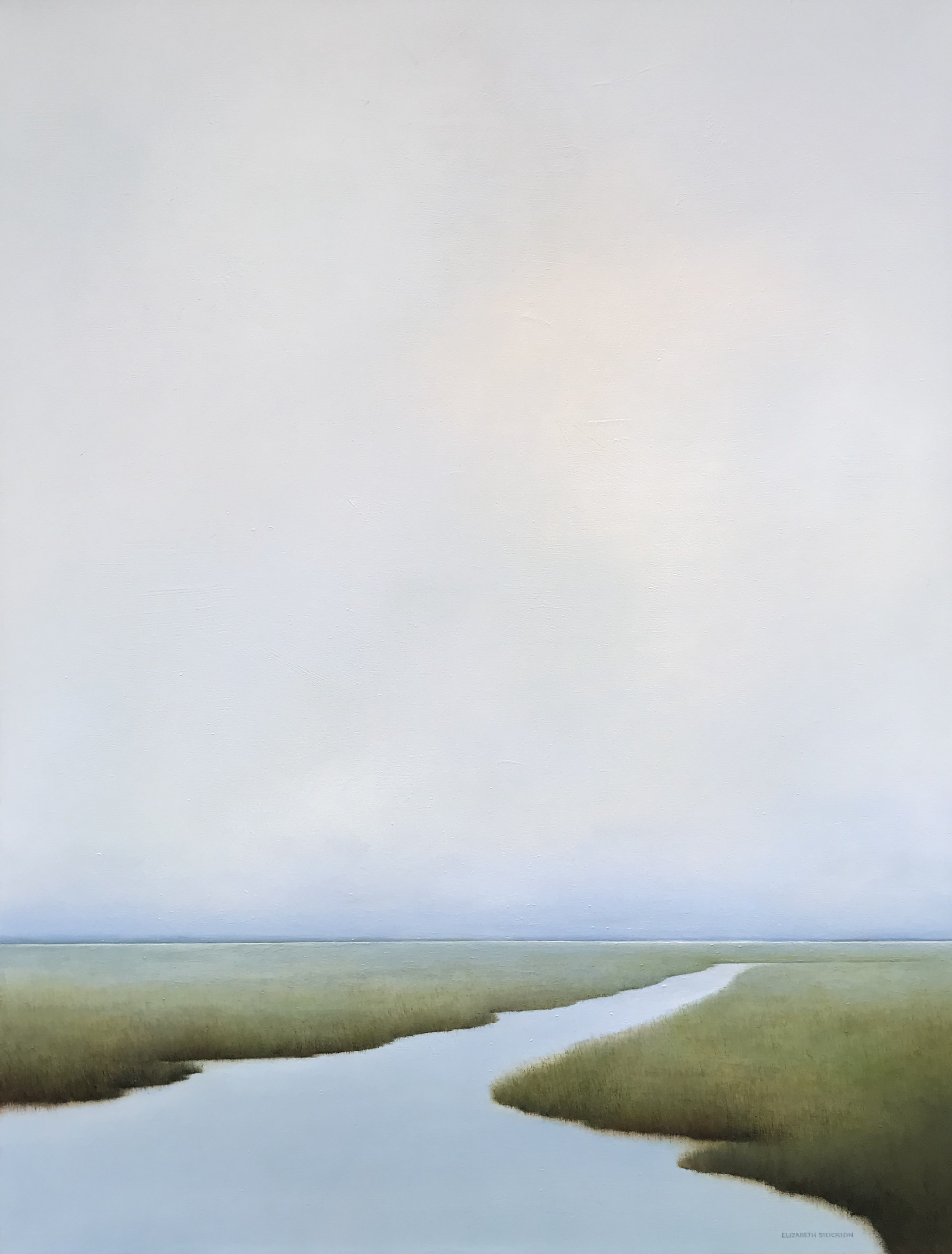 """East Coast'' oil on canvas 43'' X 56''"