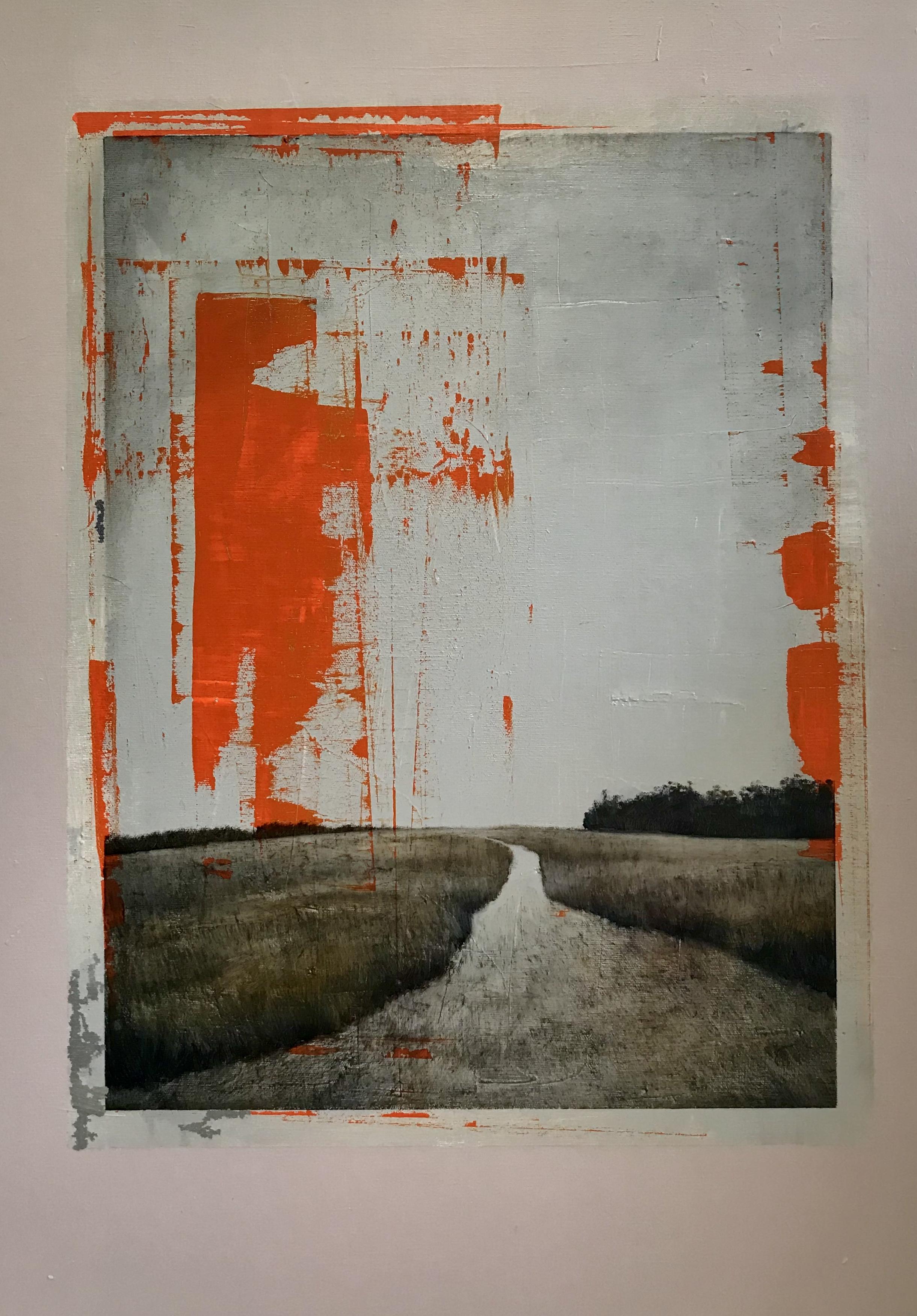 """""""Northbound'' oil on canvas 22'' X 28''"""