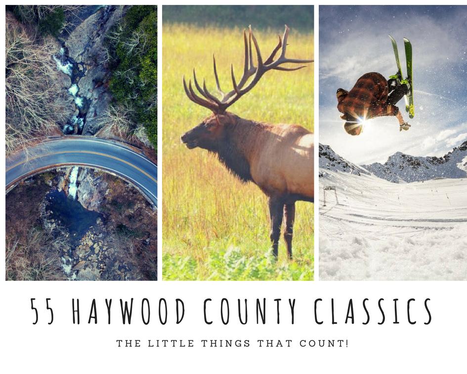 55 Haywood County perks.