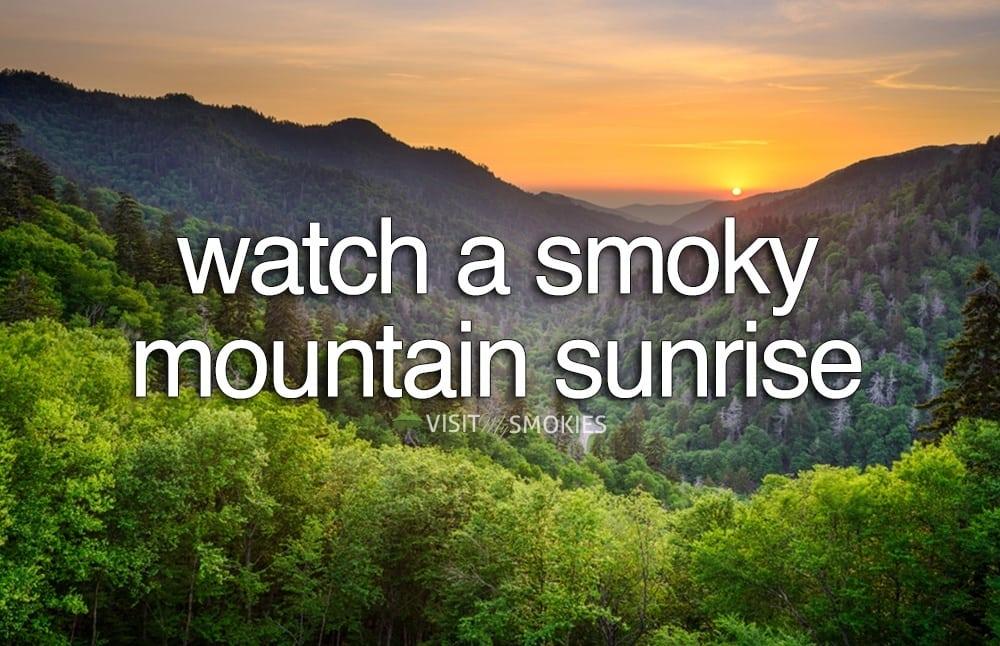 Ultimate Smoky Mountain Bucket List