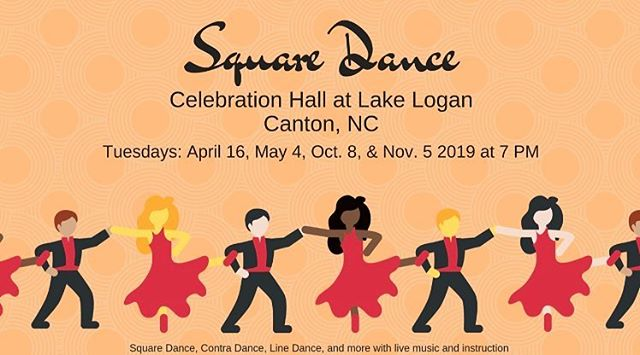 Hello Haywood 💙 Starting the 16th of this month, Lake Logan will be hosting square dance nights & lessons for contra dance, line dance and square dancing with live music! Check out these dates, mark your calendars, and come wiggle with the rest of us! 💃🏻🕺🏽 • • • #wearehaywood #dailyhaywood #lifeinthesmokies #localsof828 #haywoodcounty #haynow #hayco #supportlocalbusiness #yourconnectiontoourarea #augmentedreality #engagedandenergized #828isgreat #themoreyouknow #discoverthis #discoverthat #discoverhaywood