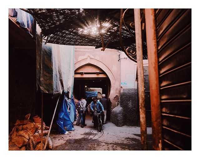 Marrakech definitely doesn't souk.