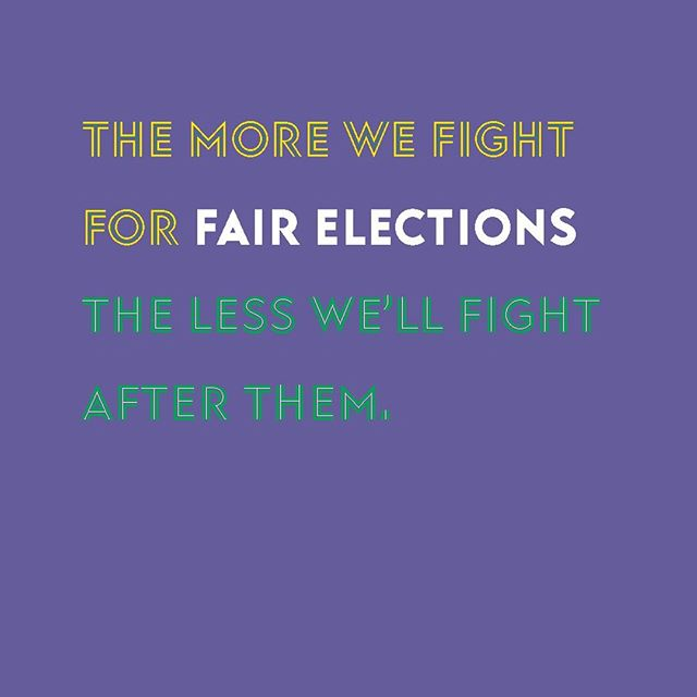 When districts are gerrymandered, one party has a huge advantage before there's even an election. The playing field is unfair. Together we can end gerrymandering.⠀ #gerrymandering #wisconsin #packers #gopackgo #vote #voting #midterms #republican #democrat #bluewave #independent